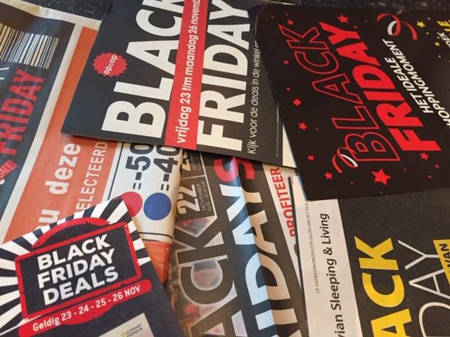 Gaat U Black Friday Of Cyber Monday Shoppen